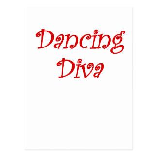 Dancing Diva Postcard