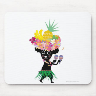Dancing Dog Mouse Pad