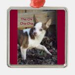 Dancing Dog: the Chi Cha Cha Christmas Ornament