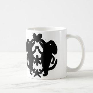 Dancing Dogs Coffee Mug