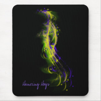 Dancing Dogs Mouse Pad