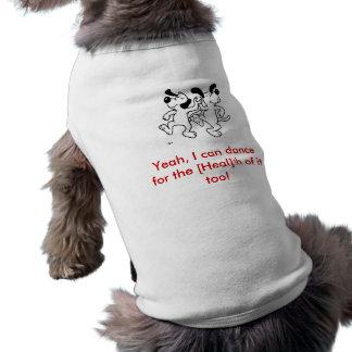 Dancing_Dogs, sí, puedo bailar para [cure] el t… Playera Sin Mangas Para Perro