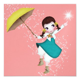 Dancing Doll Shower / Party - SRF Card