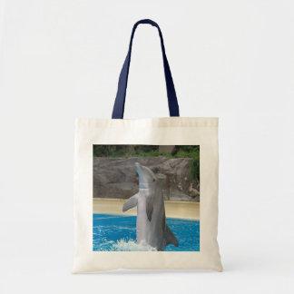 Dancing Dolphin Tote Tote Bag