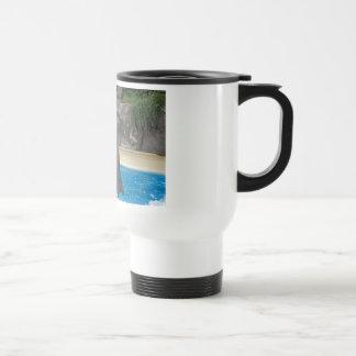 Dancing Dolphin travel Mug