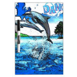 Dancing Dolphins Art Dance Dry-Erase Boards