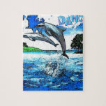 Dancing Dolphins Art Dance Puzzles