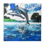 Dancing Dolphins Art Dance Tiles
