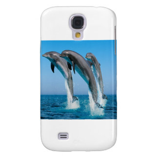 Dancing dolphins samsung galaxy s4 cover