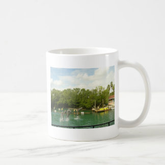 Dancing Dolphins in Miami Classic White Coffee Mug