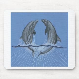 Dancing Dolphins Mouse Pads