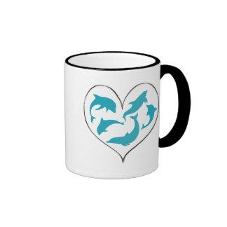 Dancing Dolphins Mugs