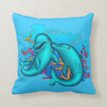 Dancing Dolphins Pillow