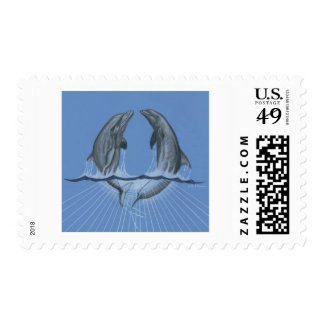 Dancing Dolphins Stamps