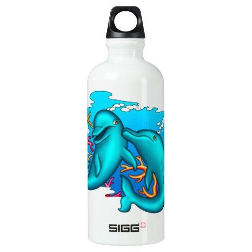 Dancing Dolphins SIGG Traveler 0.6L Water Bottle