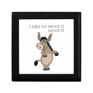 Dancing Donkey Keepsake Box