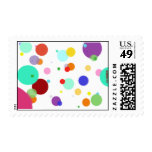 Dancing Dots Postage Stamps