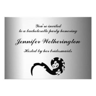Dancing Dragon Bachelorette Party Invite