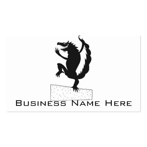 Dancing Dragon Business Card Template