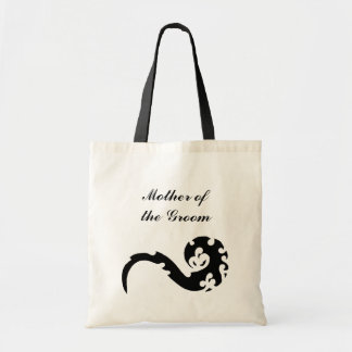 Dancing Dragon Mother of the Groom Wedding Canvas Bag