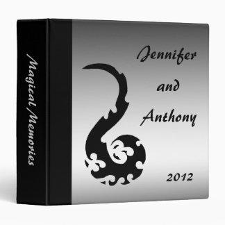Dancing Dragon Wedding Album 3 Ring Binder