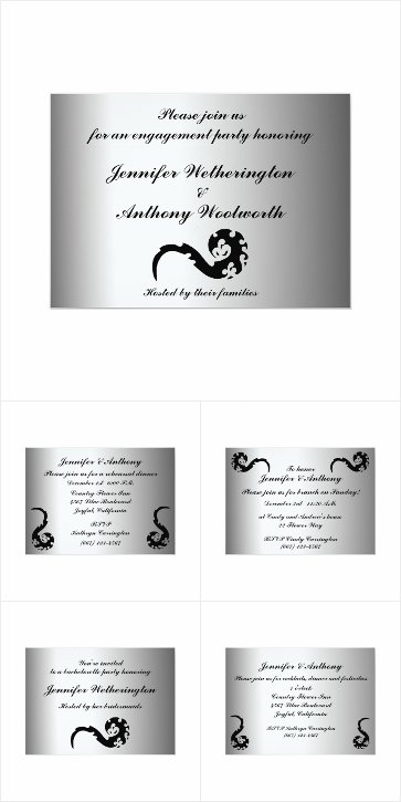 Dancing Dragon Wedding Stationery