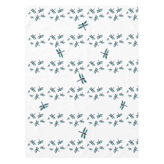 Dancing Dragonfly Art Tablecloth