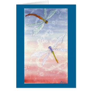 """""""Dancing Dragons"""" card"""