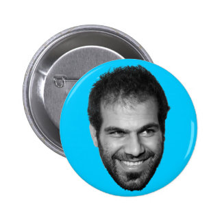 Dancing Dror Happy Face! 2 Inch Round Button