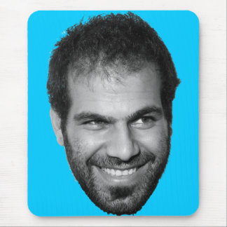 Dancing Dror Happy Face! Mouse Pad