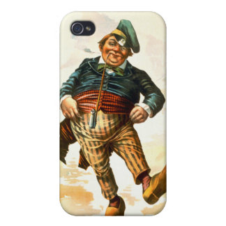 Dancing Dutchman 1890 Covers For iPhone 4