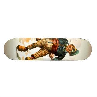 Dancing Dutchman 1890 Custom Skateboard
