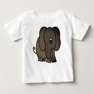 Dancing Elephant Baby T-Shirt