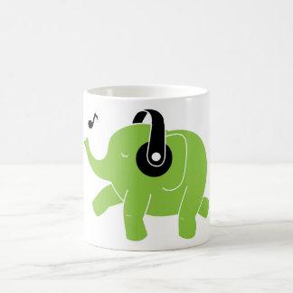 Dancing Elephant Coffee Mug