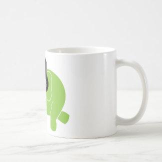 Dancing Elephant Coffee Mugs
