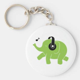 Dancing Elephant Keychains