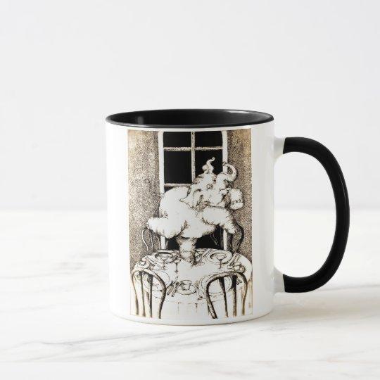 Dancing Elephant Mug