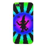 Dancing Elf in Rainbow Sun Rays - iPhone 5 Covers