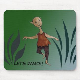 Dancing Elf Mousepad