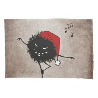 Dancing Evil Christmas Bug Pillowcase