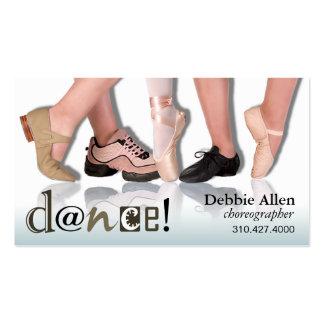 Dancing Feet - Choreographer Dancer Instructor Business Cards