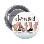 """Dancing Feet"" - Choreographer, Dancer, Instructor Button"