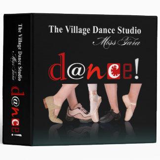 Dancing Feet Notebook for Angie Vinyl Binders