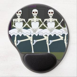Dancing Female Skeletons Gel Mousepads
