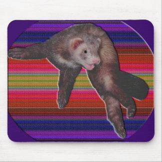 Dancing Ferret Mouse Pad