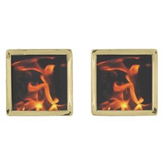 Dancing Fire Cufflinks