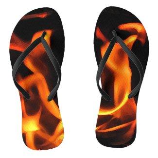 Dancing Fire Flip Flops