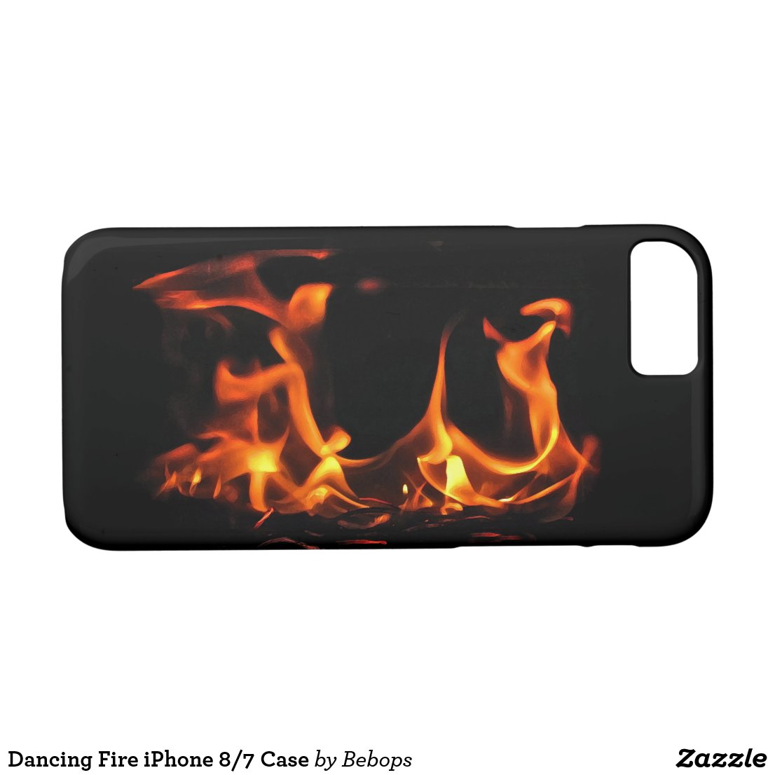 Dancing Fire iPhone 7 Case