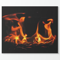 Dancing Fire Wrapping Paper