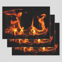 Dancing Fire Wrapping Paper Set